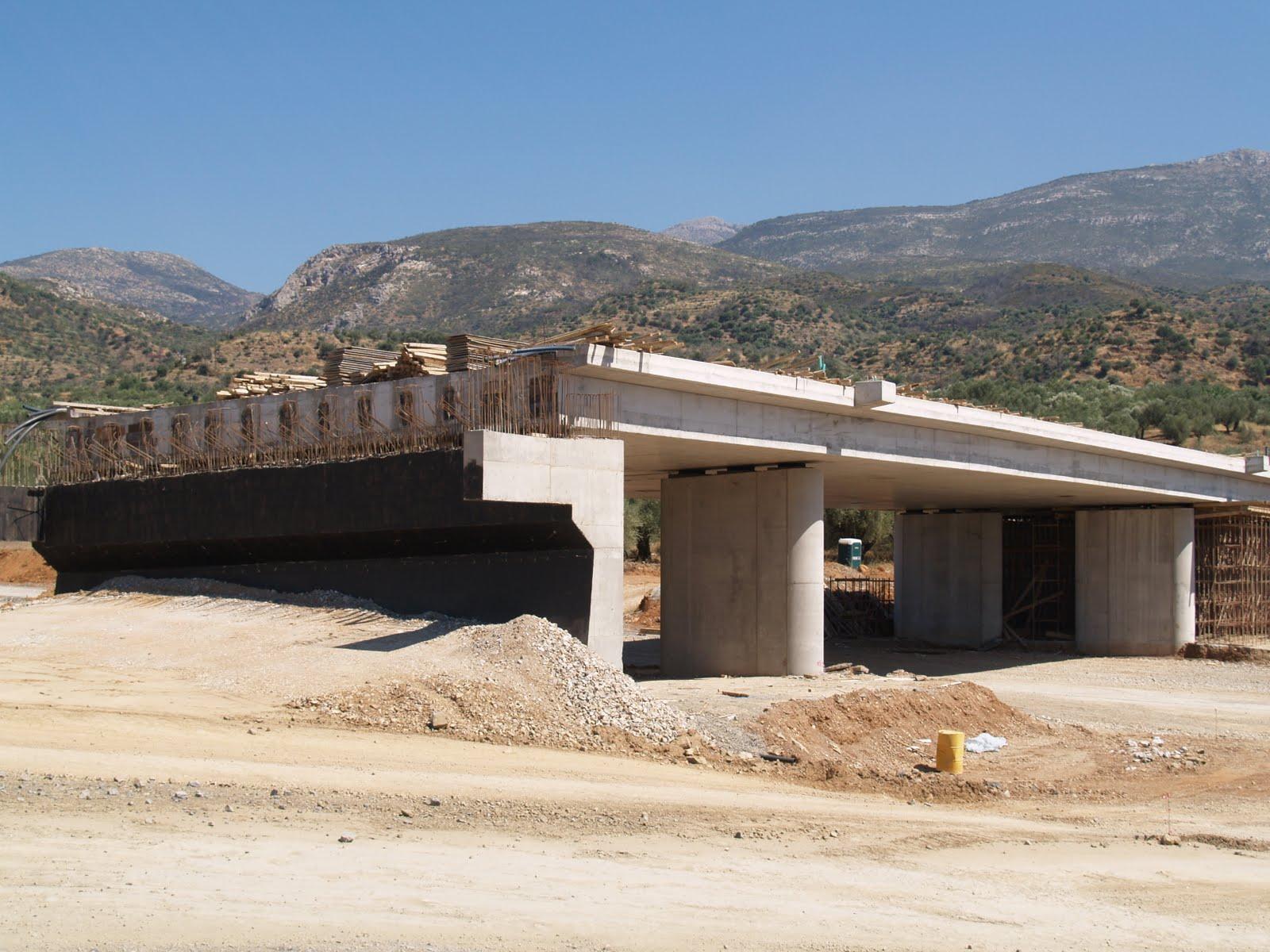 Moreas Motorway Bridges