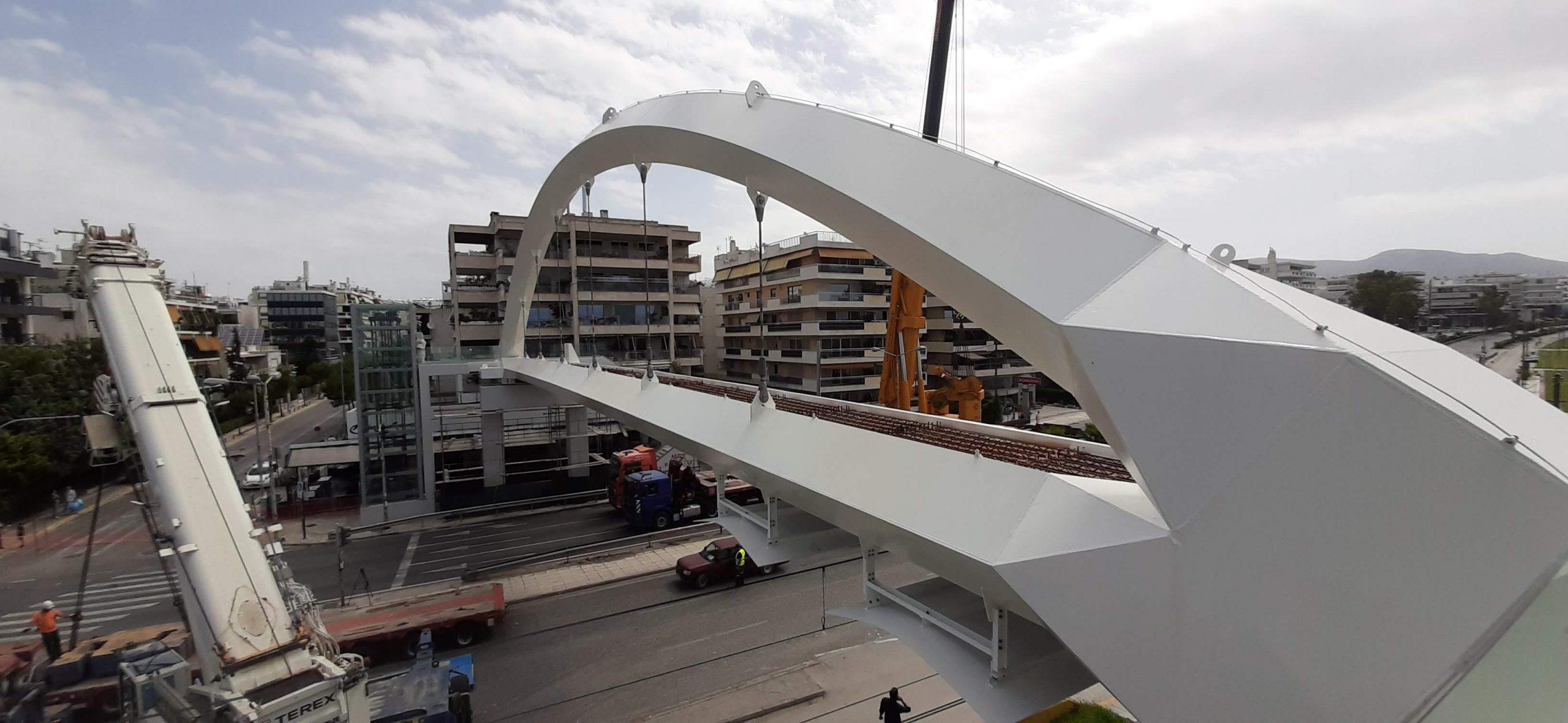 Scientific Advisor for 6 new Pedestrian Bridges in Athens