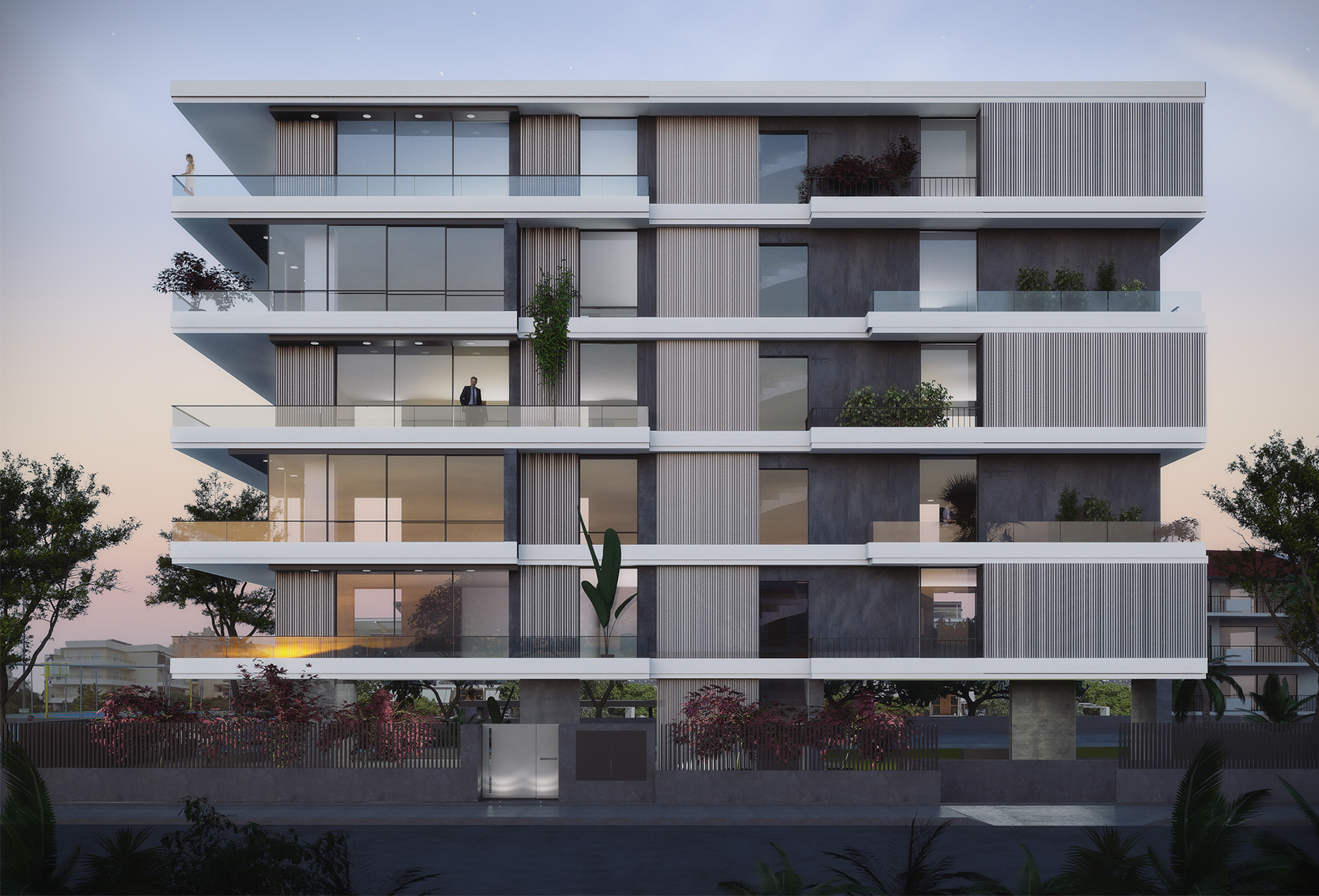 New Residence Building at Glifada
